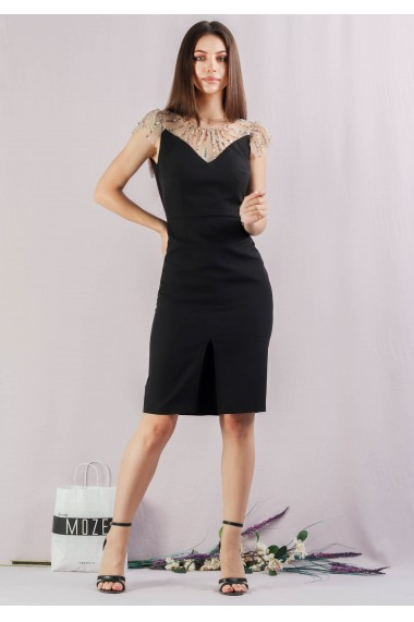 Rochie cocktail conica