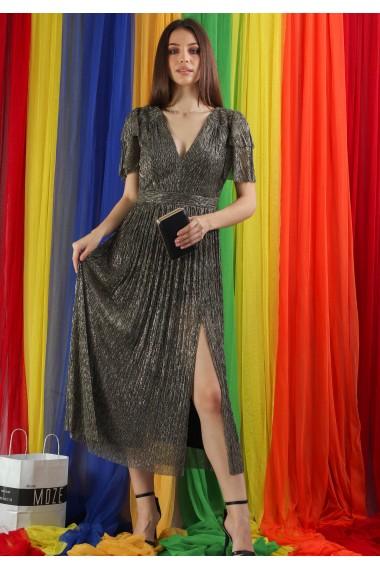 Rochie plisata de ocazie