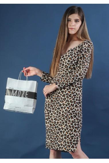 Rochie conica cu imprimeu