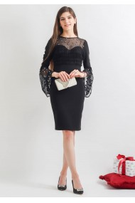 Rochie conica cocktail