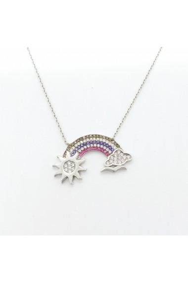 Colier din argint Rainbow