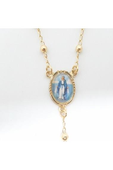 Bratara tip rosariu placata cu aur Alaska