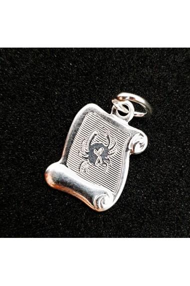 Pandantiv din argint Zodia Rac