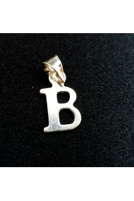 Pandantiv Litera B din argint