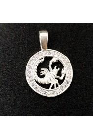 Pandantiv din argint Zodia Scorpion