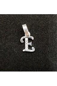 Pandantiv Litera E din argint