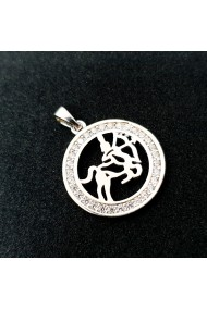 Pandantiv din argint rodiat Zodia Sagetator