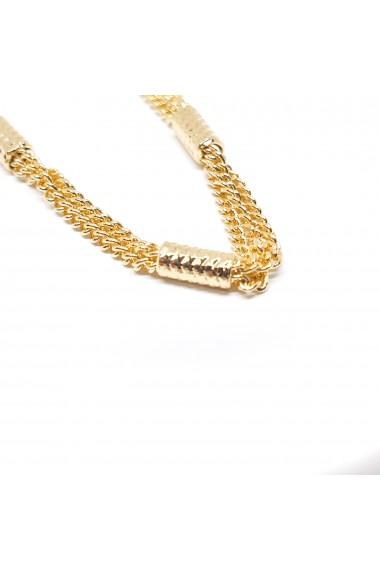 Bratara placata cu aur 18 cm FYI