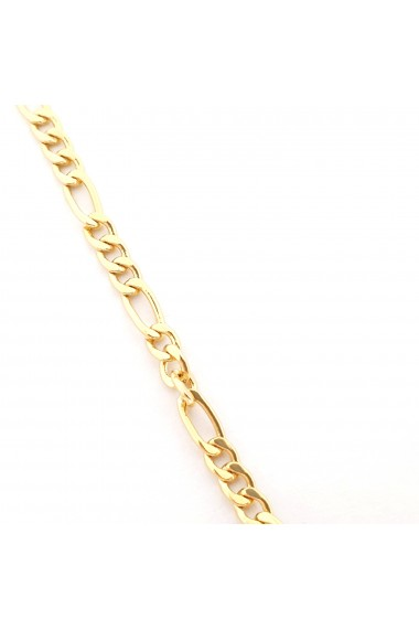 Colier placat cu aur 45 cm Seattle