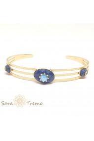 Bratara cu pietre naturale Lapis Lazuli