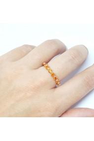 Inel placat cu aur Finger