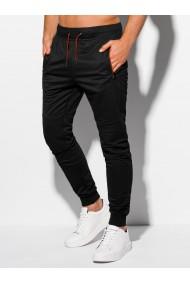 Pantaloni de trening barbati P968 - negru