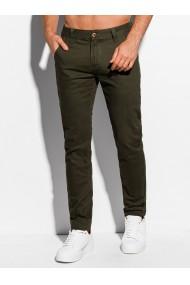 Pantaloni casual barbati P981 - khaki