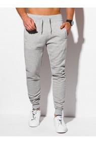 Pantaloni barbati P928 - gri-deschis