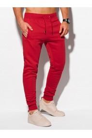 Pantaloni de trening barbati P928 - rosu