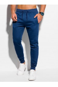 Pantaloni de trening barbati P928 - bleumarin