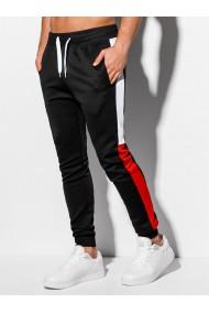 Pantaloni de trening barbati P963 - negru