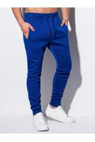Pantaloni de trening barbati P928 - albastru