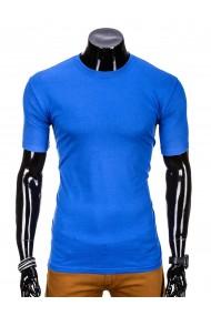 Tricou barbati bumbac - S970-albastru
