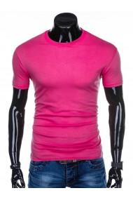 Tricou barbati bumbac - S970-roz-inchis