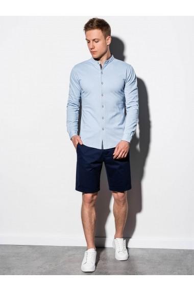 Camasa premium barbati K542  albastru