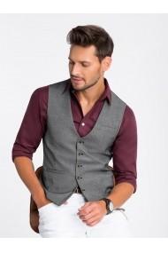 Vesta premium eleganta barbati  V45 negru