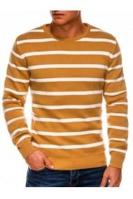 Bluza barbati E155  galben