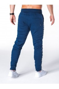 Pantaloni barbati de trening bleumarin slim fit sport street model nou  P653