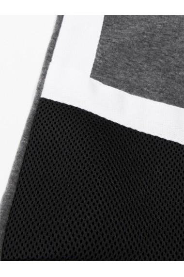 Pantaloni barbati de trening gri slim fit sport street model nou P737