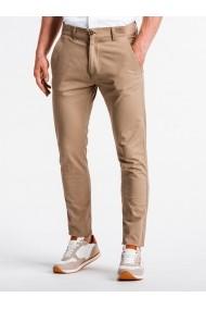 Pantaloni premium casual barbati  P830 bej