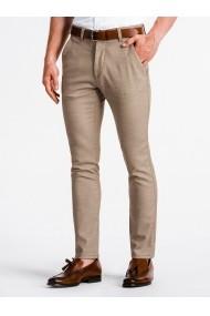 Pantaloni premium casual barbati  P831 maro