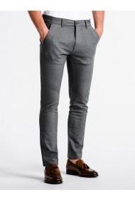 Pantaloni premium casual barbati  P832 gri