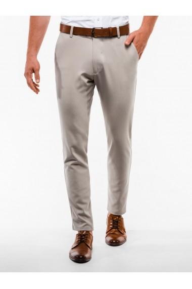 Pantaloni premium casual barbati  P832 bej
