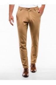 Pantaloni premium casual barbati  P832 camel