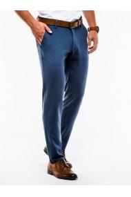 Pantaloni premium casual barbati  P832 albastru