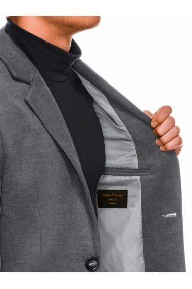 Palton barbati premium  C432 gri inchis