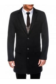 Palton barbati premium  C432 negru