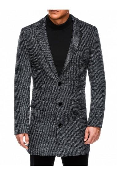 Palton barbati premium  C431 gri