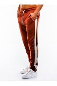 Pantaloni de trening barbati  P865 portocaliu