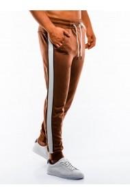 Pantaloni de trening barbati  P865 maro
