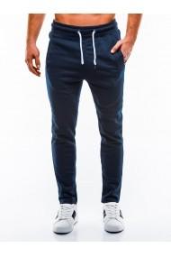 Pantaloni de trening barbati  P866 bleumarin