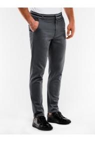 Pantaloni barbati casual slim fit P156 gri