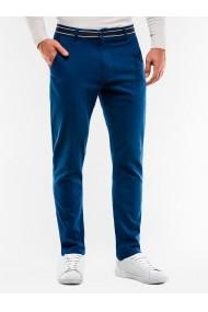 Pantaloni barbati casual slim fit P156 albastru