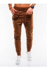 Pantaloni casual barbati P908  maro