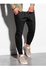 Pantaloni joggers barbati P885  negru