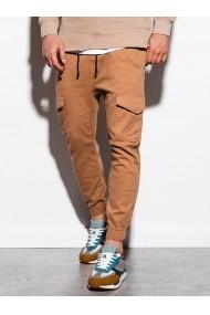 Pantaloni joggers barbati P886  bej