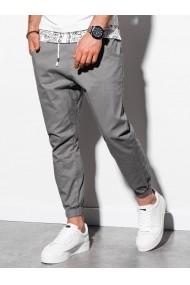 Pantaloni joggers barbati P885  gri