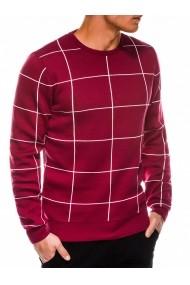 Pulover premium barbati  E163 rosu