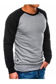 Bluza barbati B980  gri inchis
