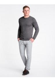 Bluza premium barbati E121  gri inchis